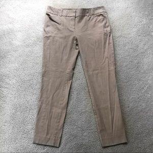 New York & Company Beige Stretch Pants